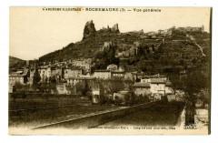 Ardèche Rochemaure Vue générale - Rochemaure