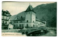 Savoie Moutiers l'Hôtel de Ville - Moûtiers