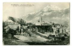 Hautes-Alpes Embrun Vue de la Route de Gap - Embrun