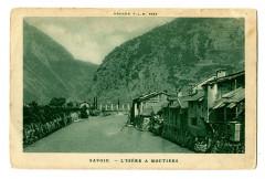 Savoie L'Isère à Moutiers - Moûtiers