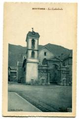 Savoie Moutiers La Cathédrale - Moûtiers