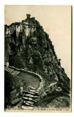 Corse Nonza Le Rocher et la Tour Génoise - Nonza