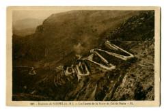 Alpes-Maritimes Environs de Sospel Les Lacets Route du Col de Braus - Sospel