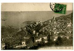 Alpes-Maritimes La Turbie Vue générale prise du Mont Bataille - La Turbie