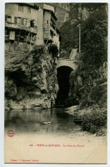 Isère Pont-en-Royans Le Pont du Picard - Pont-en-Royans