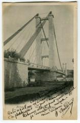 Gard Aramon Le Pont Suspendu - Aramon