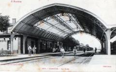 Pamiers La Gare (cpa animée) - Pamiers