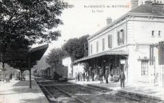Saint Gengoux Le National La Gare (TRAIN En Gare - Saint-Gengoux-le-National