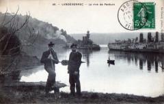 Landevennec La Rive De Penforn (BELLE Cpa Animee - Landévennec