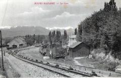 Bourg Madame La Gare (TRAIN Joli Cliche - Bourg-Madame