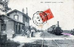 Donnery La Gare (TRAIN En Gare Gros Plan - Donnery
