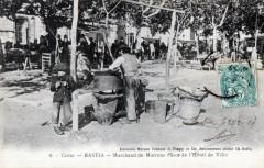20 Corse Bastia Marchand De Marrons Place De L´HOTEL De Ville (VIEUX Metiers - Bastia