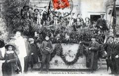 Cognac Cavalcade De La Mi Careme 2 Mars 1913 (AUTRE Cliche (GROSSE Animat - Cognac