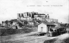 Grignan Le Tramway En Gare (BEAU Plan - Grignan