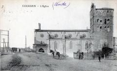 Coursan L'Eglise  (CPA Animee - Coursan