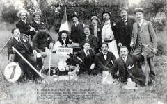 Verdun Sur Meuse Le Jardin English Spoken 1912 (GROS Plan Belle Cpa - Verdun