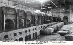Wasquehal Manufacture De Bleus D'Outremer  O.LONEUX Une Batterie De Fours - Wasquehal