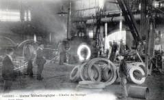 Pamiers Usine Metallurgique Atelier Des Bandages - Pamiers