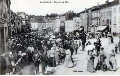 Baccarat Un Jour De Fete (GROSSE Animation Dans La Rue - Baccarat