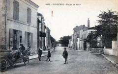 Surgeres Route De Niort (belle cpa animée - Surgères