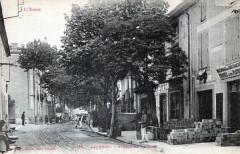 Capendu Avenue De La Gare  (CPA Animee - Capendu
