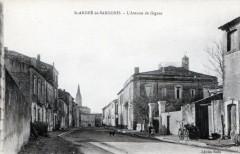 Saint Andre De Sangonis Avenue De Lodeve (cpa animée) - Lodève