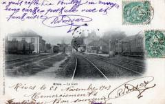 Rives La Gare (dos non divisé) - Rives