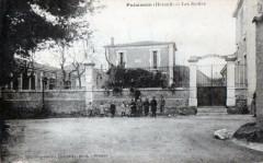 Puimisson Les Ecoles (Cpa Animee - Puimisson