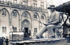 Carte Photo Narbonne Pescofils Carnaval Xviii 1931 (Sallis Editeur - Narbonne
