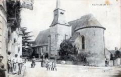 Neuville Maine Et Loire (cpa animée) - Loiré