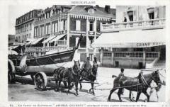 Berck Plage Le Canot De Sauvetage Amiral Courbet Rentrant D'Une Sortie D' - Berck