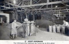 La Rochelle -- Ets Jodet-Angibaud (Belle Cpa Gros Plan Industrie - La Rochelle