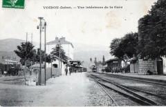 Voiron Vue Interieure De La Gare - Voiron