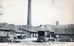 Wasquehal Manufacture De Couleurs O.loneux Forge Et Atelier De Reparation - Wasquehal