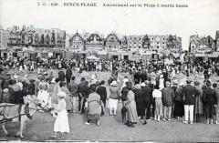 Berck Plage Amusement Sur La Plage A Maree Montante (Grosse Animation 62 Berck