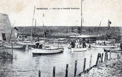 Narbonne port  de la société nautique - Narbonne
