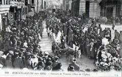 Berck Plage 22 Mars 1914 Concours De Travestis Place De L'Eglise (Grosse - Berck