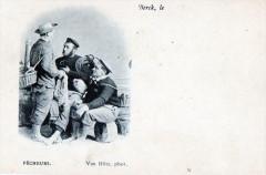 Berck Pecheurs (dos non divisé) Travail De La Mer 62 Berck