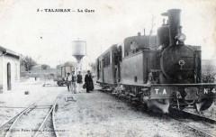 Talairan La Gare (train en plan énorme cliché excpetionnel - Talairan