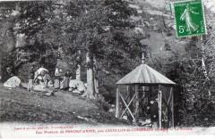 Eau Minerale De Pontaut D'Ayer Pres Castillon En Couserans La Buvette (An - Castillon-en-Couserans