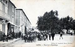 Lunel Place De La Republique (Pas Courante - Lunel