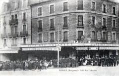 Rodez Cafe Des Colonnes (cpa animée) - Rodez