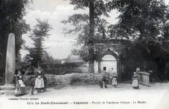 La Foret Fouesnant Logoman Portail De L'Ancienne Abbaye (Animation - Fouesnant