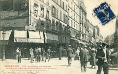 Faubourg du Temple au coin de l'Avenue Parmentier - Paris 10e