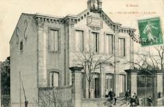 Villegailhenc La Mairie (cpa animée - Villegailhenc