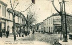 Capendu Avenue De La Gare (animée pas courante - Capendu