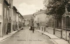 Esperaza Rue Victor Hugo (cpa animée) Pas Courante - Espéraza