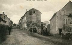 Viala Du Tarn Avenue De La Poste (pas courante (cpa animée) - Viala-du-Tarn