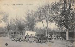 Riberac Avenue De La Gare (attelage animation - Ribérac
