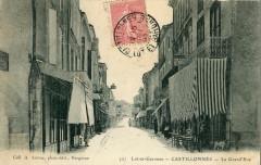 Castillonnes La Grand'Rue - Castillonnès